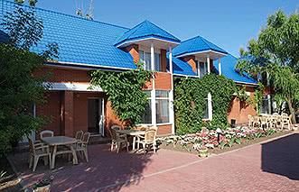 Кирилловка, база отдыха Диана