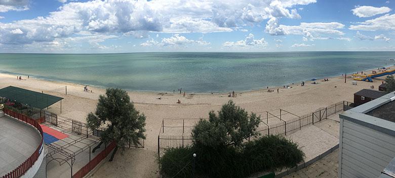 Пляжи азовского моря 2018 фото
